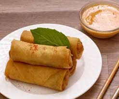Pieces Egg Roll